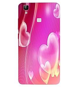 ColourCraft Love Muffin Design Back Case Cover for VIVO V3 MAX