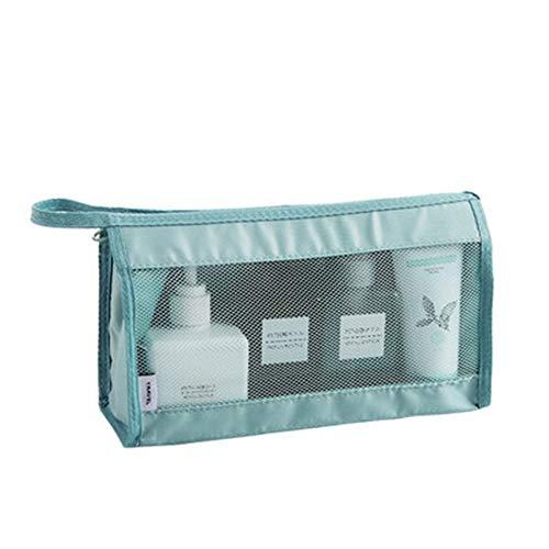 HUIHUAN Waschen Aufbewahrungstasche Wasserdichte Großraumwaschbeutel Outdoor-Reise Badetasche Hautpflegeprodukte Tragbare Hängende Aufbewahrungstasche Kosmetiktasche -