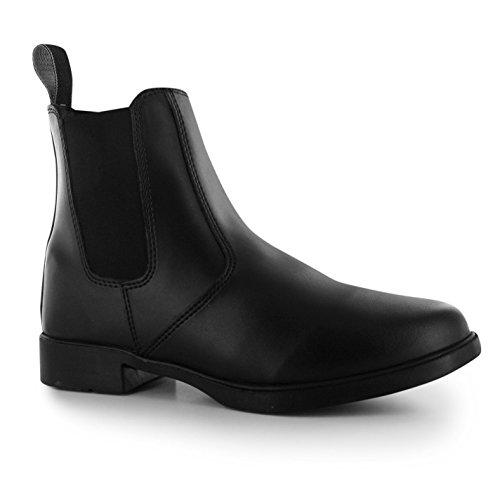 Requisite Aspen Damen Reitstiefelette Reitschuhe REIT Boots Stiefelette Schuhe Schwarz 5.5 (38.5)
