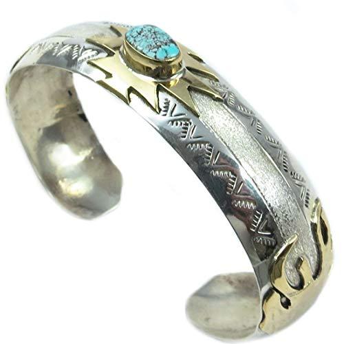 Armspange für Damen aus Sterling Silber - Golden Eaglehead