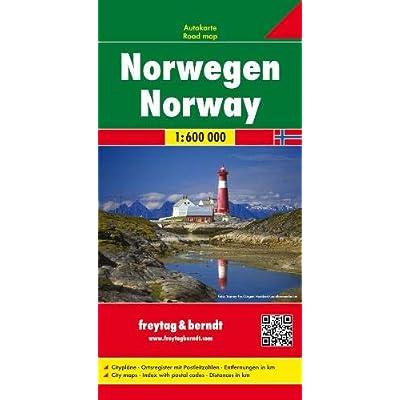 Norvegia 1:600.000: Wegenkaart 1:600 000