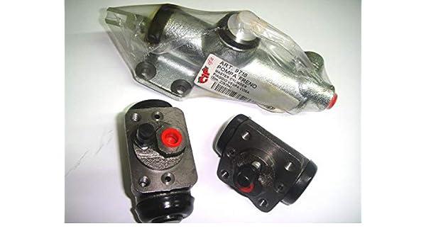 2x disco de freno freno Q-Parts 24 bdi01266 eje delantero ventilado Ø: mm