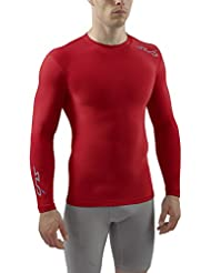 Sub Sports Herren Cold Kompressionsshirt Thermisch Funktionswäsche Base Layer Langarm