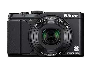 """Nikon Coolpix S9900 Fotocamera Digitale Compatta, 16 Megapixel, Zoom 30X, 6400 ISO, LCD 3"""" Angolazione Variabile, Full HD, Nero [Versione EU]"""