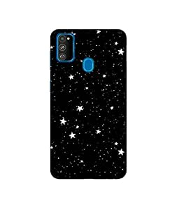 Amazon Brand - Solimo Designer Stars 3D Printed Hard Back Case Mobile Cover for Samsung Galaxy M21 / M30s