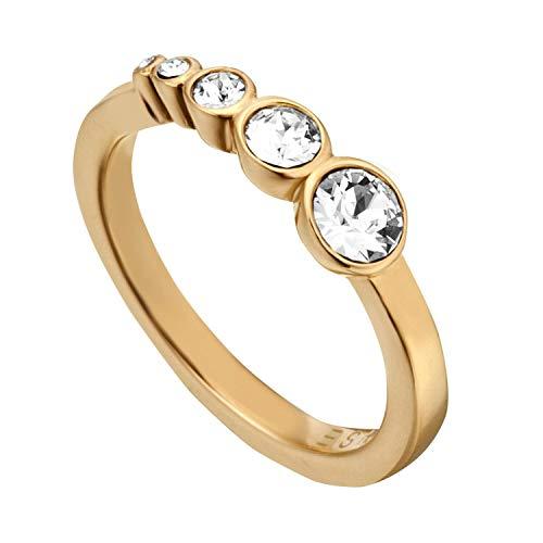 Esprit Damen-Ringe Edelstahl mit Ringgröße 54 (17.2) ESRG00212217