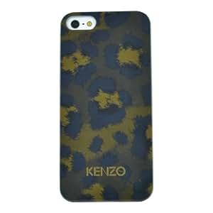 Kenzo KE258186 Etui pour iPhone 5/5S/5C Motif Léopard Vert
