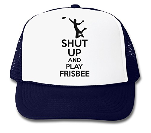 ShutUp and Play Frisbee Trucker Cap