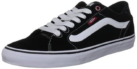 Vans M FAULKNER (BUTCHER) BLACK/WHITE/WHI VSJV63M, Herren Sneaker, Schwarz (Black/White/Whi),