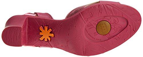 Art Damen 0279 Memphis Rio Peeptoe Sandalen Pink (Magenta)
