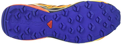 Salomon Speedcross Vario 2, Scarpe da Trail Running Uomo Arancione (Bright Marigold/scarlet Ibis/surf T Bright Marigold/scarlet Ibis/surf T)