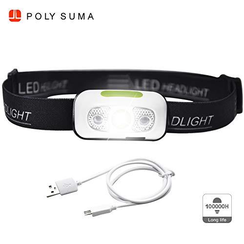 Stirnlampe LED wasserdicht kopflampe jogging kopflampe led kopflampe stirnlampe sport jogging lampe kopf led radfahren taschenlampe stirnleuchte helmlampe lauflampe joggen wiederaufladbar kopfleuchte