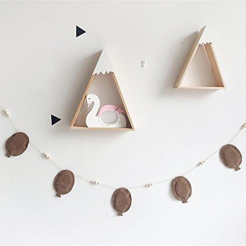 Wingbind 2M Drachen und Ballon String, Nordic Princess Style Banner Anhänger, Home Schlafzimmer/Party/Hochzeit/Geburtstag/Kinderzimmer/Cradle/Baby Dusche hängende Dekoration