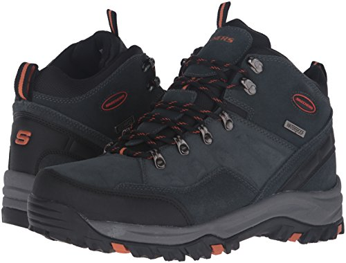 Skechers Men's Relment-Pelmo High Rise Hiking Boots, Grey (Grey Gry), 10 UK 45 EU