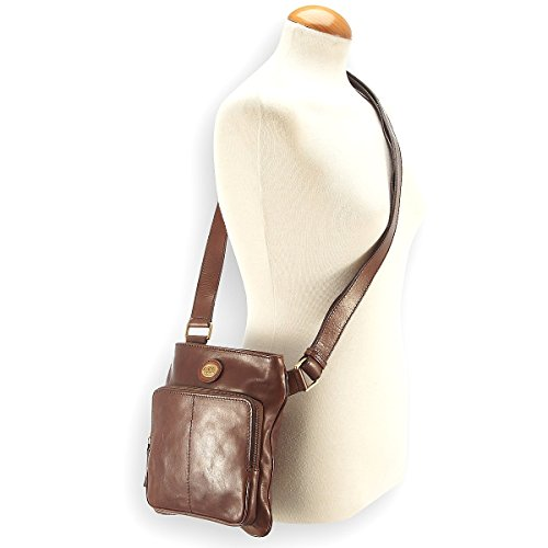 The Bridge Story Uomo borsa a tracolla pelle 22 cm Marrone