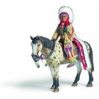 Schleich 70300  -  Figura/ miniatura Indios, Sioux Jefe de caballo