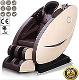 Massage Sessel Heat Sessel Multifunktionaler Ganzkörper-Relax-Stuhl, Rücken Massage Kneten Mit Wärme Luft Kompressions Schwingung Für Ultimative Stress Linderung Von Nacken Rücken Oberschenkel Und Hüften