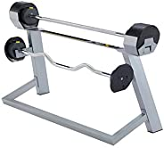First Degree Fitness MX Select 80 Adjustable Barbell, platinum