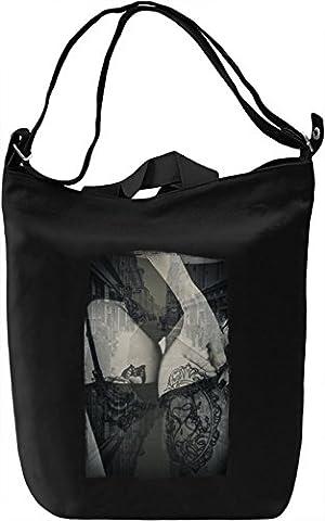 Vintage lingerie Canvas Day Bag| 100% Premium Cotton Canvas| DTG Printing| Unique Handbags, Briefcases, Sacks & Custom Fashion Accessories For Men & Women