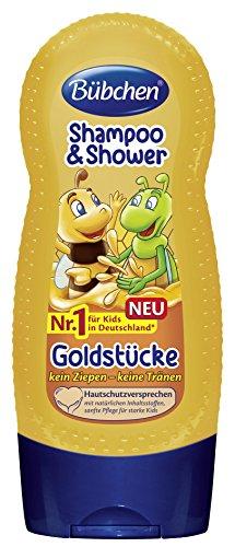 Bübchen Kids Shampoo und Shower Goldstücke, 4er Pack (4 x 230 ml)