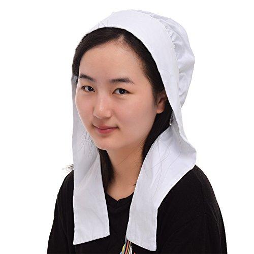 GRACEART Cap per donna Cofano Costume Accessorio 100% cotone (Opzione 4 stili) (Style-4)