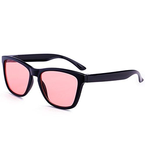 Dollger - Lunette de soleil - Femme Red Lens+Black Frame