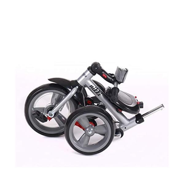 Kikka Boo 31006020043 Sports Trolley Kikka Boo KIKKA BOO strollers and strollers Sports prams and strollers for unisex children. Nikki Tricycle Melagne Grey (31006020043) 7