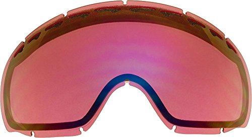 Ersatzgläser für Oakley Crowbar Skibrille, Light Rose Mirror