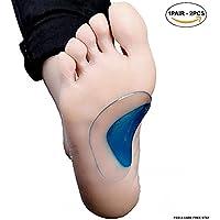 pedimendtm Orthopädische Arch Support Einlegesohle für flache Fuß (Ohrstecker–2) | flach Fuß Korrektur Schuh... preisvergleich bei billige-tabletten.eu