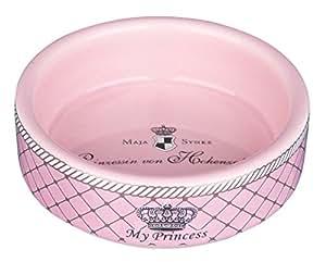 Trixie My Princess Ceramic Bowl, 250 ml, Pink