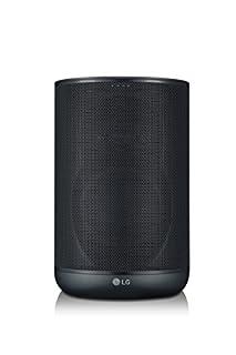 LG wk7WiFi Haut-Parleur avec Google Assistant intégré Noir (B07B9N5FB9) | Amazon Products