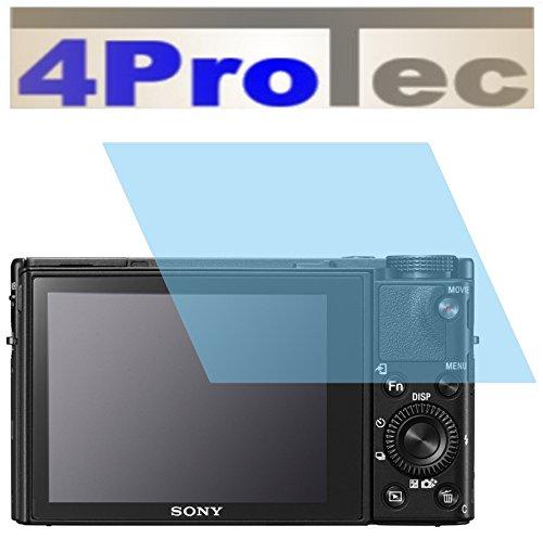 2 Stück GEHÄRTETE ANTIREFLEX Displayschutzfolie für Sony Cyber-shot DSC-RX100 V Bildschirmschutzfolie