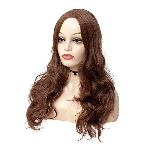 Europäische und amerikanische Perücke Kopfbedeckung knallt langes lockiges Haar große Welle flauschige Volumen Perücke Kopfbedeckungen