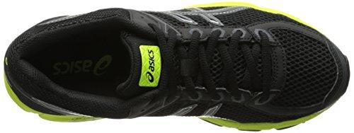 Asics GT-1000 4 GS Maschenweite Laufschuh Black/Onyx/Flash Yellow