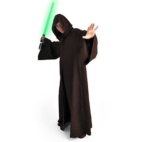 Jedi Robe Deluxe Kostüm von (Kostüme Darth Star Wars Maul Erwachsene Deluxe)