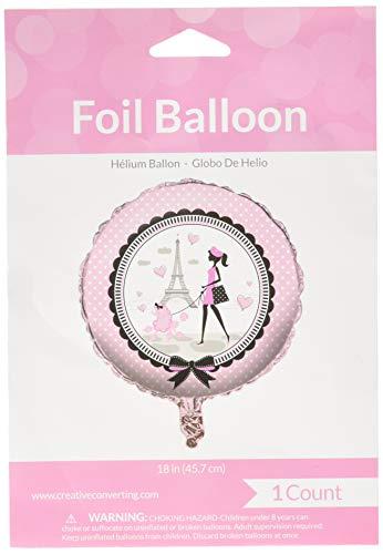 Creative Converting 45584 Paris-Partyballon, mehrfarbig