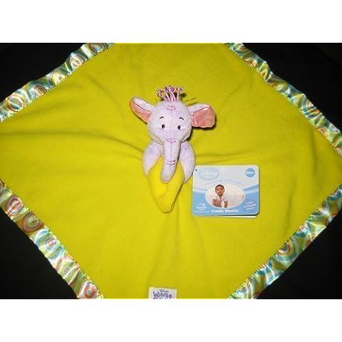 Disney Winnie the Pooh Lumpy Rattle Lovey Security Blanket by Disney