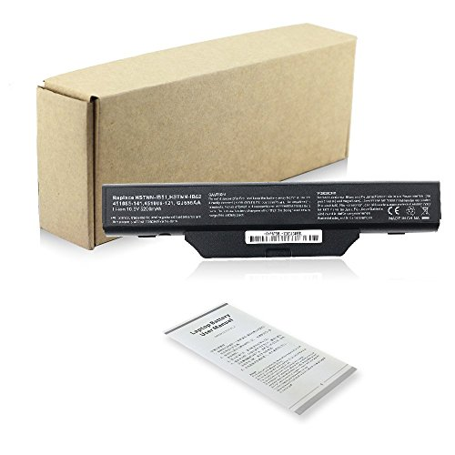 New Extended Replacement Notebook Laptop Battery Akku compatible with für HP Compaq 550 610 615 6720s 6730s 6735s 6820s 6830s HSTNN-LB51 HSTNN-IB51 HSTNN-IB52 HSTNN-IB55 HSTNN-LB51 HSTNN-LB52 HSTNN-OB51 HSTNN-OB52 HSTNN-OB62 HSTNN-XB51 HSTNN-XB52 Batterie Li-ion 6 Cell 10.8v 5200mAh/56wh 12 month guarantee.