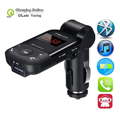 tereo Bluetooth Adapter Freisprecheinrichtung FM Transmitter Unterstützung U Disk TF Karte MP3 Music Player ()