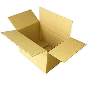 50 Carton 200 x 220 x 310 mm - 150 mm - 100 mm perforé boîte de rangement