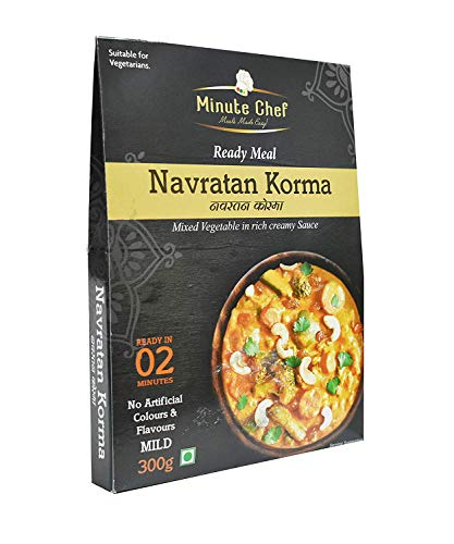 Minute Chef-Ready to Eat Navratan Korma, 300g