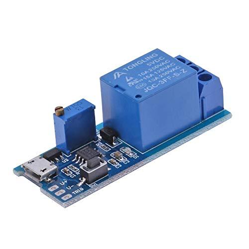 YouN 5V-30V Micro USB Power-Verzögerungsrelais Timer Control Module Trigger Switch -
