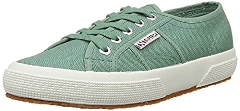 Superga Unisex-Erwachsene 2750 Cotu Classic Sneakers, Green (Green Malachite), 42 EU