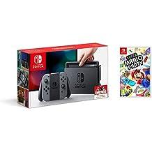 Nintendo Switch - Consola, Color Gris + Super Mario Party