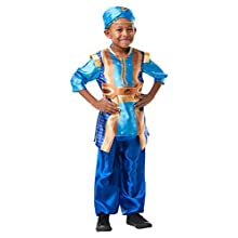 Rubie's Official Disney Live Action Aladdin, Genie Childs Costume, Size Medium - Age 5-6 Years