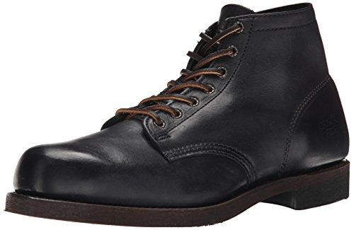 fryeprison-boot-botas-clasicas-de-cana-baja-botas-hombre-negro-negro-blk-44-eu