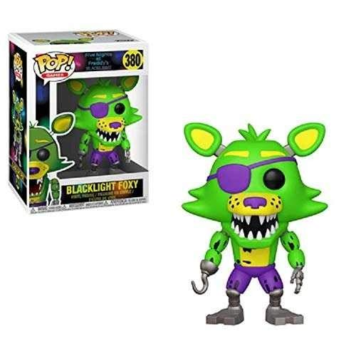Funko - Five Nights at Freddy's Black Light - Blacklight Foxy Exclusive Pop 10 cm - 0889698341363 Black Night Light
