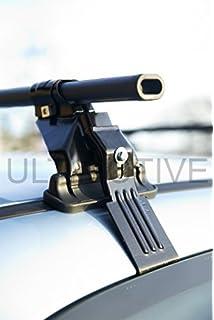 M-Way NNRB1040.166 Aluminium Roof Aero Bars Rack Locking Rails 90 Kg Load Capacity