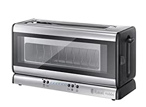 russell hobbs 21310 56 clarity glas toaster. Black Bedroom Furniture Sets. Home Design Ideas