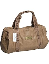 Sac polochon David Jones CM0045 - coloris taupe